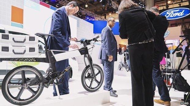 La vicicleta eléctrica de Ford. Fuente: BBC.com